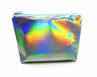 NEW!! Holographic Cosmetics Pouch