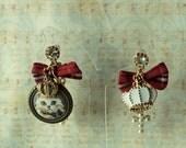 Sweet Lolita Royal cat earrings
