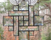 Stained Glass - Clear Beveled Southwest Sun Catcher