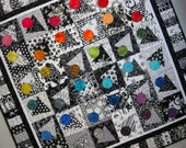 KEEPING AUSTIN WEIRD Modern Quilt from Quilts by Elena Ready to Ship