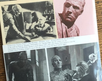 The Mummy Classic Horror Monster Movie Collage, Scrapbook and Planner Kit Number 2250