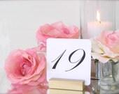 Table Number Holder + Gold Wedding Table Number Holders (Set of 12) RESERVED