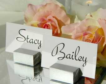 Place Card Holder  + Silver Place Card Holders (Set of 100) ON SALE