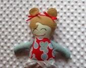 Joy Small Handmade Fabric Baby Doll