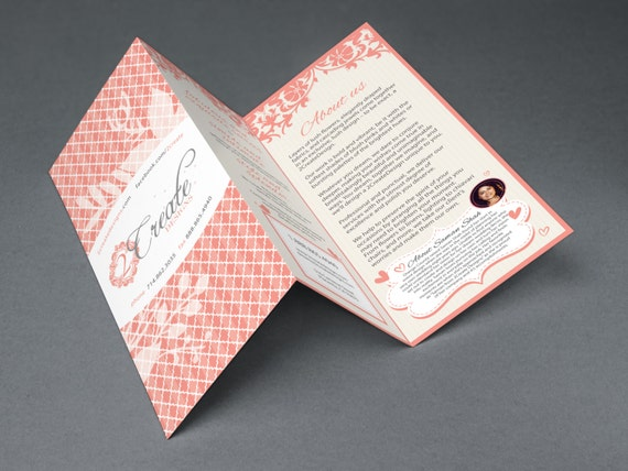 Flyer, Brochure Design for print with high resolution