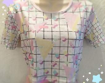 Popkei Fairykei Crop Top, Pastel Crop Top, Kawaii Crop Top