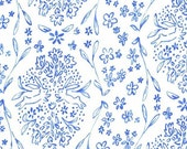Sarah Jane , Michael Miller Sommer Pre-Sale, Sundborn, Blue- 1/2 Yard-Free Shipping in the USA with orders over 50 dollars