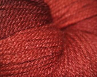 Moonbeam Yarn: Polwarth wool, Tussah silk
