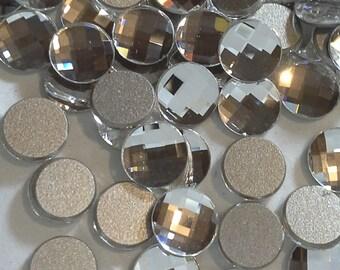 18 6mm Chessboard Flatbacks Swarovski Chessboard Flatbacks Article 2035 6mm Flatback Crystal Chessboard Circles