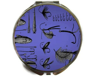 Fishing Tackle Lures Compact Mirror Pocket Mirror Large