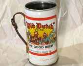 Drinking Stein made from vintage beer can and wrenches