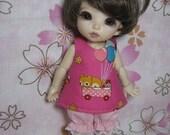 Sundress and Bloomers for Pukifee / Lati Yellow