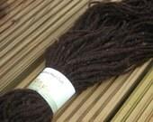 Jacob Sheep Yarn Natural Dark Brown  Donegal Rosie