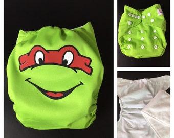 Ninja Turtle Cloth Diaper - Pocket Cloth Diaper
