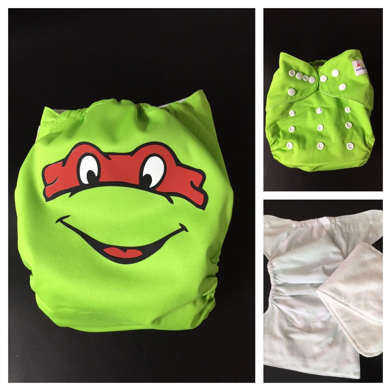 Ninja Turtle Cloth Diaper Pocket Cloth Diaper