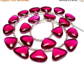 55% OFF SALE Buy Wholesale Lot - Super Finest AAA Rubelite Hot Pink Quartz Smooth Polished Fancy Heart Briolettes Size 18x15mm approx, Half