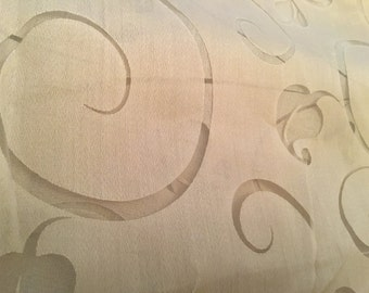 Sheer fabric - 3 yards