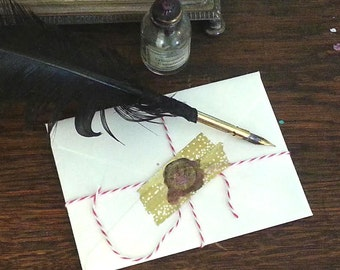 PERSONALIZED FAIRY Letter, Invitation, Message, Note, CUSTOM