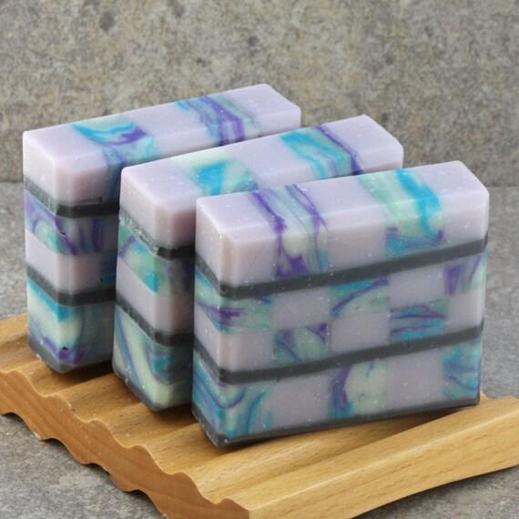 Rosemary Mint Mosaic Soap - Decorative Artisan Soap