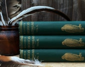 RARE 1800s natural history books // Wilson's American Ornithology, Volume I - III