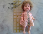 "10"" Unmarked Jointed Walking Doll"