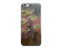 Water Lillies by Claude Monet iPhone Case Impressionist Painting iPhone 6 Plus Art Case Monet Painting iPhone 6 Case Art iPhone