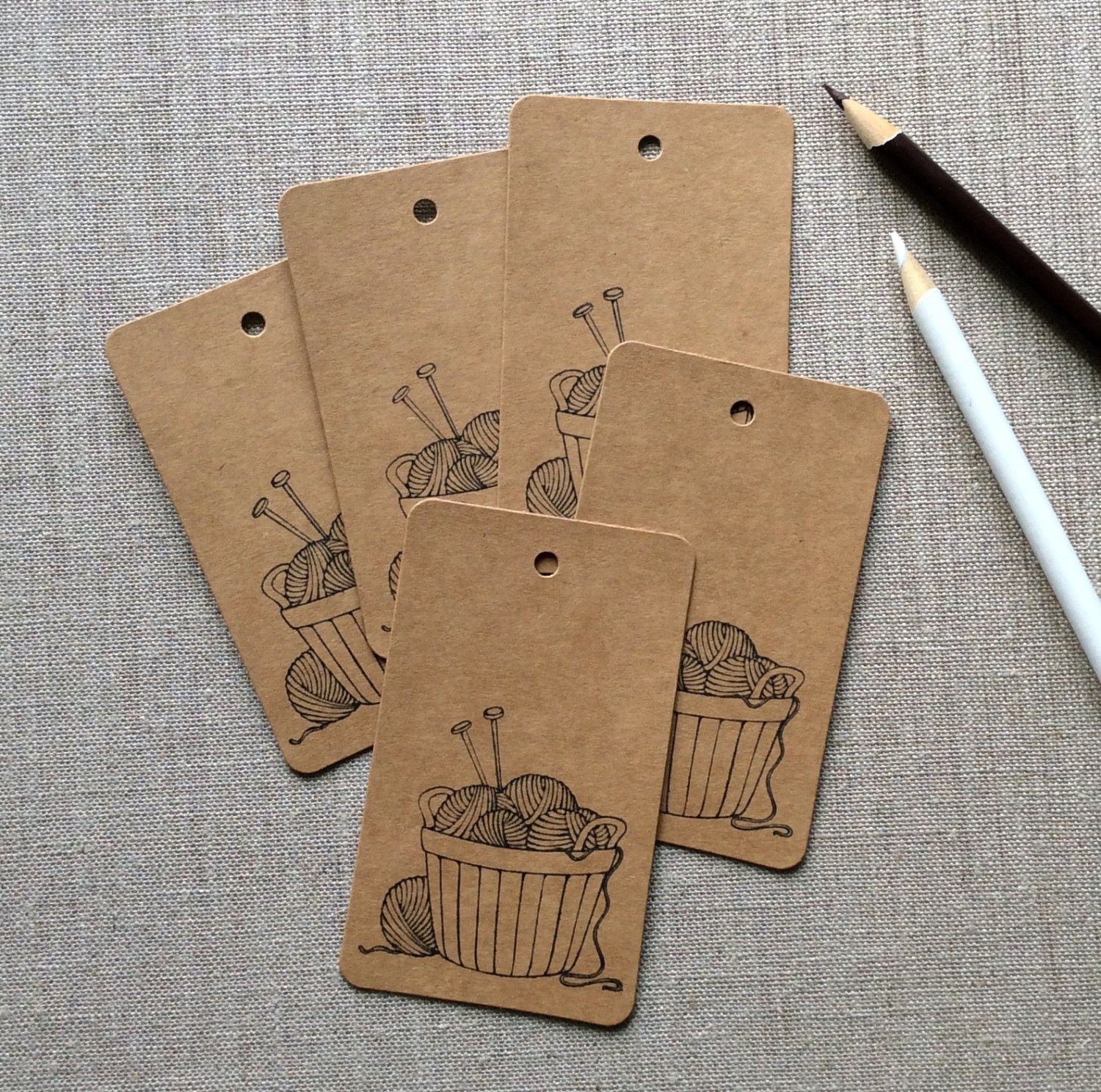 Knitting Gift Tags : Color your own gift tags crochet knitting