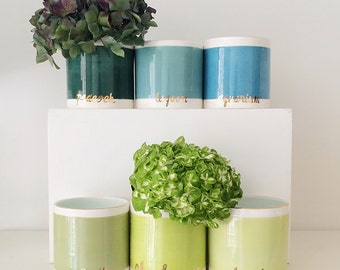 Handmade, Pottery, Vase, Bando, Stripe, Stripes, Customizable