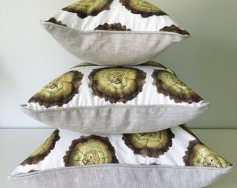 Mossy Logs Decorative Throw Pillow and Insert