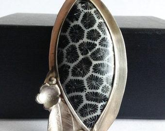 Black Coral Necklace