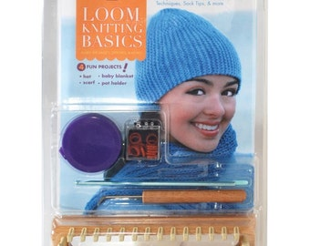 Loom Knitting Basics from Knitting Board