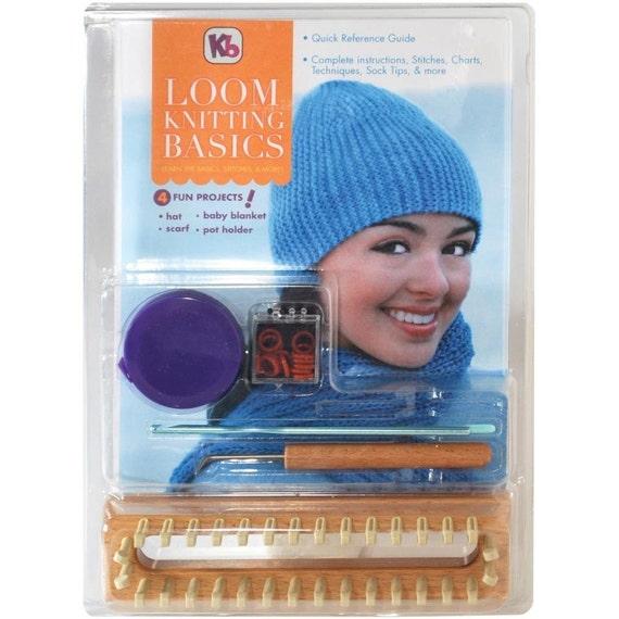 Loom Knitting Questions : Loom knitting basics from board
