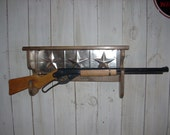 Red Ryder BB Gun Rack Display Wall Shelf