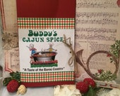 "Christmas Card Cajun Spice BUDDY""S CHILI MIX From South Louisiana  Bayou Country"