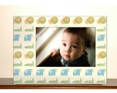 Little Boy Photo Frame, Baby boy frame, Zoo Animals frame, Cars frame, airplane frame 4x6, 5x7