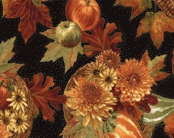 Harvest Bounty fabric | Fall Fabric | Timeless Treasures Quilting cotton