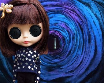 Scary Cinema Costume Series for Blythe Dolls - Coraline