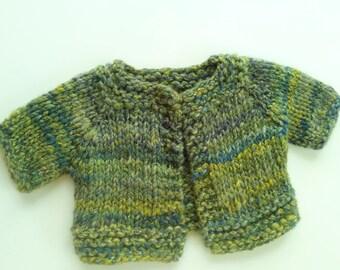Baby Sweater: Handspun Handknit Heirloom
