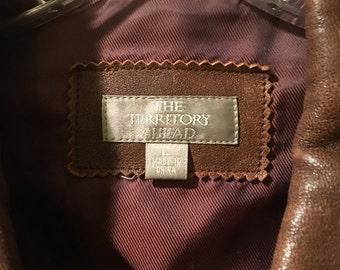 Vintage Ladies Large Leather Jacket