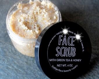 Face Scrub. Facial Scrub. Face Wash. Oatmeal Face Scrub. 4 oz / 118 mL. Honey Face Wash. Skin Care. Oatmeal Scrub. Raw Honey. Argan.