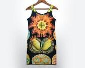 Ernst Haeckel Ascidiacea Illustration Dress - Sleeveless Dress sz Small/Medium SAMPLE