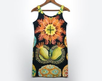 Ernst Haeckel Ascidiacea Illustration Dress - Sleeveless Dress sz Small/Medium SAMPLE