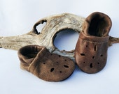 Lodge Brown Sandals Soft Soled Leather Shoes Baby and Toddler Free Shipping in US