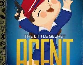 The Little Secret Agent - 8x10 PRINT