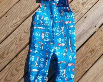 Boys Jon Jons -  Clothing For Boys - Dr. Seuss -  Boys Birthday Outfit -  Toddler Boys Clothing - Groovy Gurlz