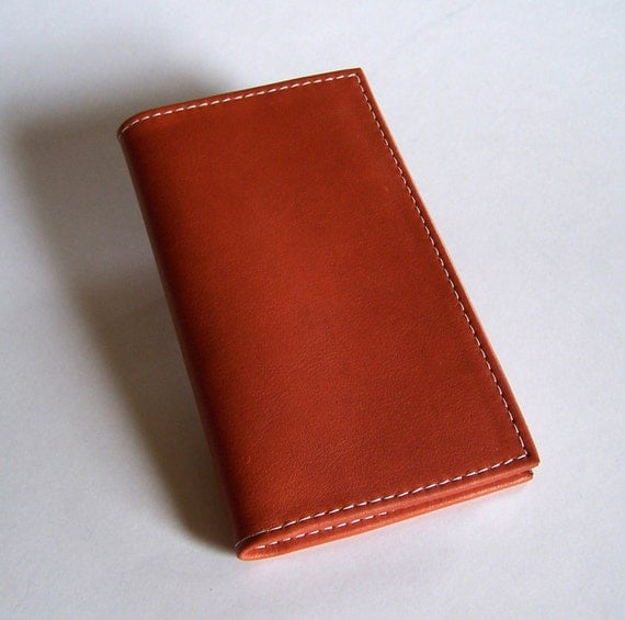 leather 2016 pocket planner with weekly calendar tan leather