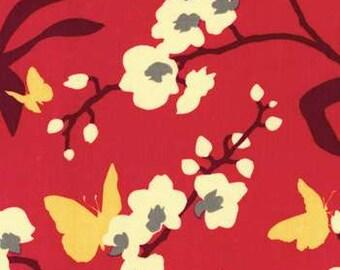 Free Spirit Joel Dewberry Ginseng Pink Orchid Home Dec Fabric