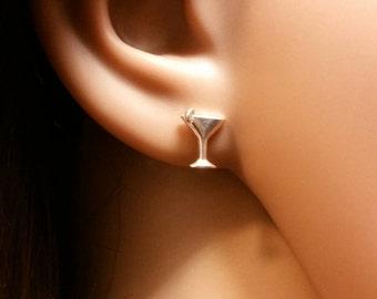 Martini Glass Earrings
