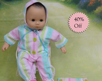 Bitty Baby playtime outfit - Baby Stripe **Sale**