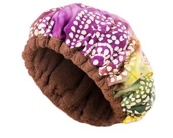 Deep Conditioning Heat Caps - Natural Hair Repair Treatment - BERRYLICIOUS Reversible Hot Head